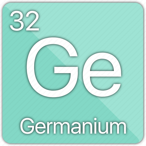 atom, atomic, element, germanium, metal, periodic table, semi-metal icon
