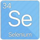 atom, atomic, element, non-metal, periodic table, selenium icon
