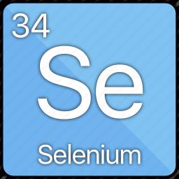 atom, atomic, element, non-metal, periodic table, selenium icon