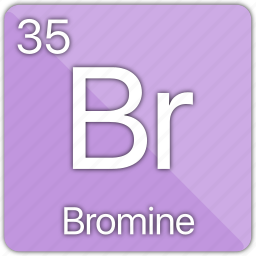 atomic, bromine, element, gas, periodic, periodic table icon