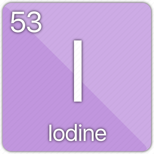atomic, element, elements, iodine, periodic, periodic table icon
