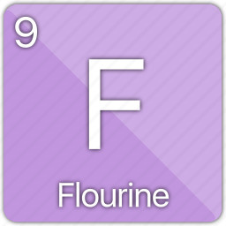 atomic, element, elements, flourine, gas, periodic, periodic table icon