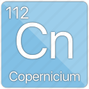 atom, atomic, copernicium, copernicus, element, metal, periodic table icon