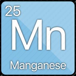 atom, atomic, element, managanese, metal, periodic table icon