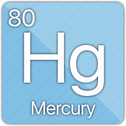 atom, celsius, element, mercury, metal, periodic table, temperature icon