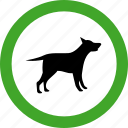 animal, animals, dog, nature, permitted, pet, pets icon