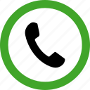 call, communication, permitted, phone, telephone icon