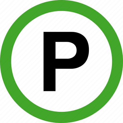 area, auto, automobile, parking, permitted, transportation, vehicle icon