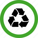 eco, ecology, environment, garbage, permitted, recycle, recycling icon