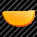 nature, summer, fruit, food, piece, persimmon