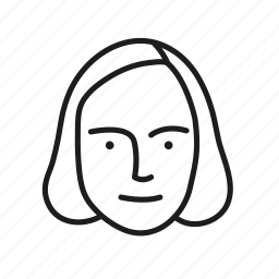 face, female, human, person, persona, user icon