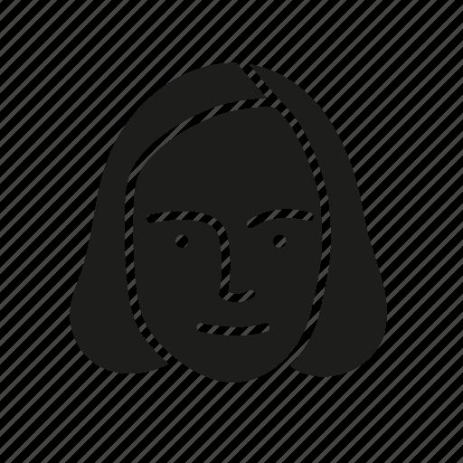 face, female, human, person, persona, user icon