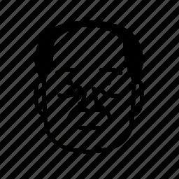 face, human, man, person, persona, user icon