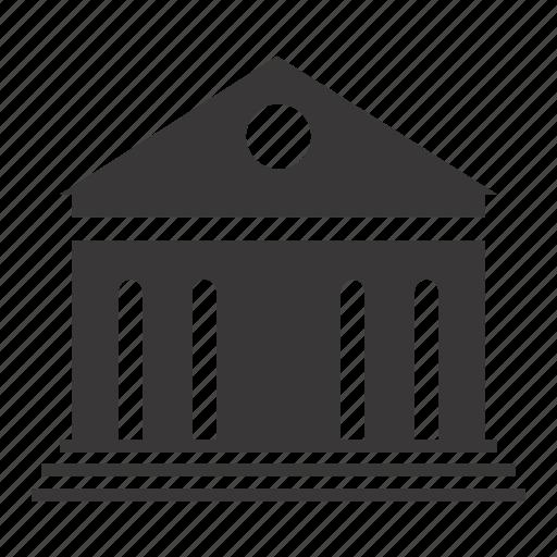bank, building, guarantor icon