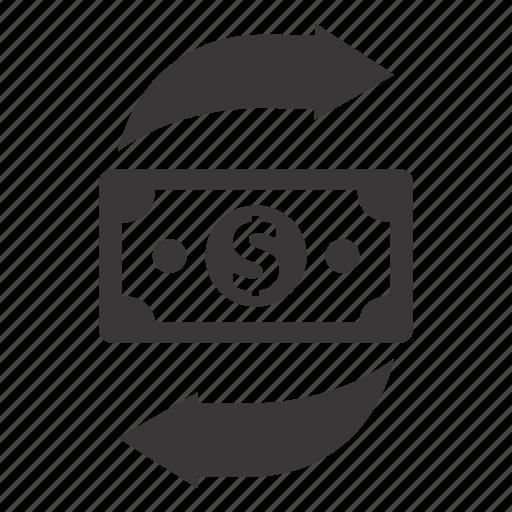 money transaction, money transfer, payment icon