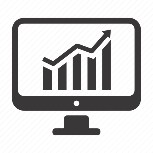 Business growth, financial report, graph icon - Download on Iconfinder