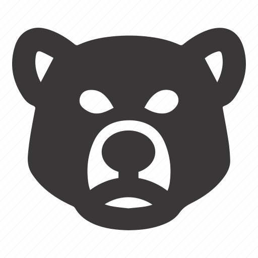 Bear, market, stock icon - Download on Iconfinder