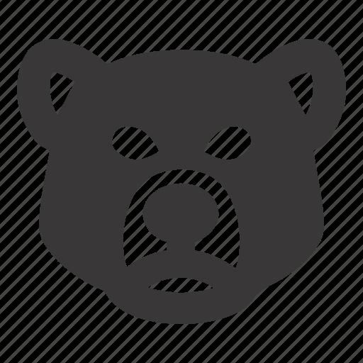 bear, market, stock icon