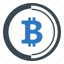 bitcoin, finance, money icon