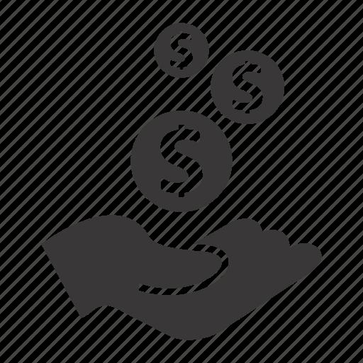 income, profit, revenue icon