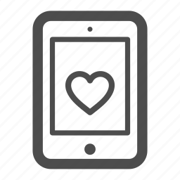 heart, ipad, like, love, pc, tablet icon