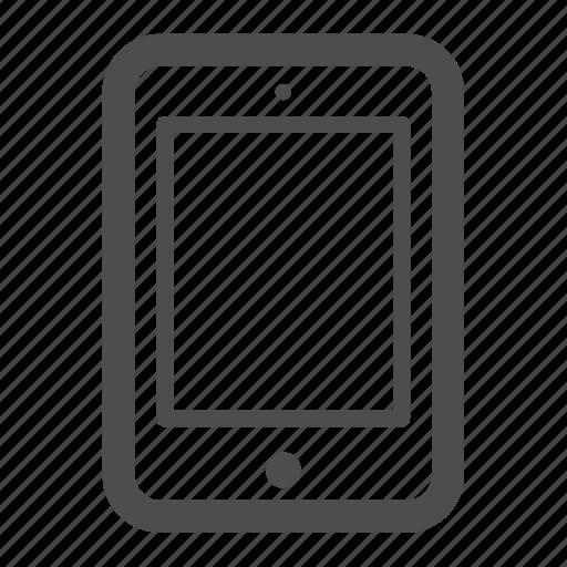 ipad, pc, tablet icon