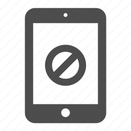 close, delete, forbidden, ipad, remove, tablet icon