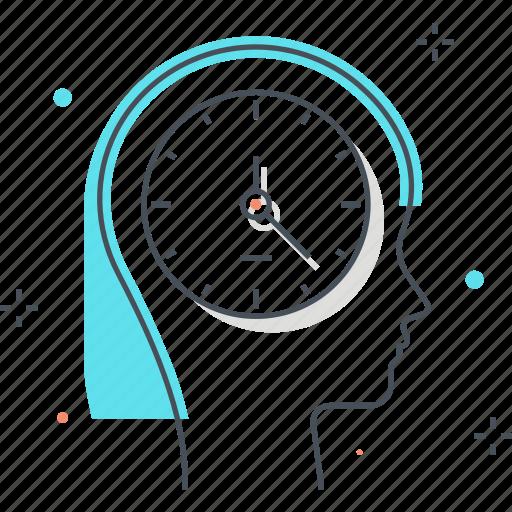 clock, dead line, female, time, woman icon