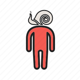 boredom, depressed, exhausted, people, sick, sluggish, tired icon