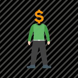 business, cash, finance, idea, money, plan, wealth icon