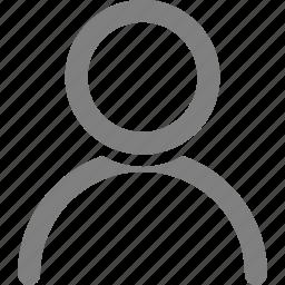 account, man, people, person, profile icon