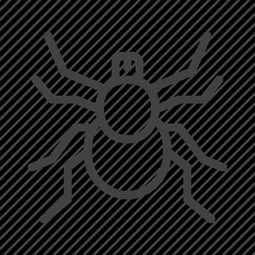 control, insect, mite, pest, tick icon