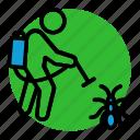 cockroach, extermination, exterminator, fumigation, killer, pest, pest control icon