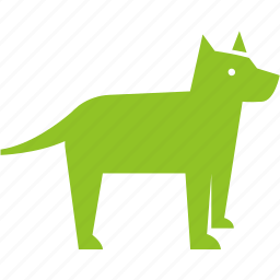 danger, dog, guard, pet, pup, puppy, warning icon