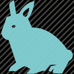 animal, bunny, cute, food, pet, rabbit icon