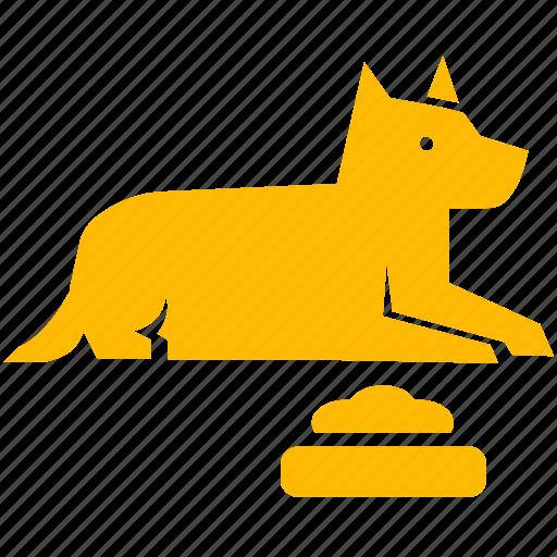 dog, guard, pet, poo, poop, puppy icon