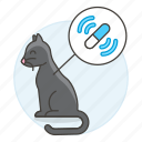animal, cat, chip, devices, gps, microchip, pet, smart, tracker icon