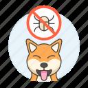 animal, care, deparasite, dog, no, parasite, pet, puppy, tick