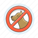 allowed, dog, entry, forbidden, not, pet, prohibited icon