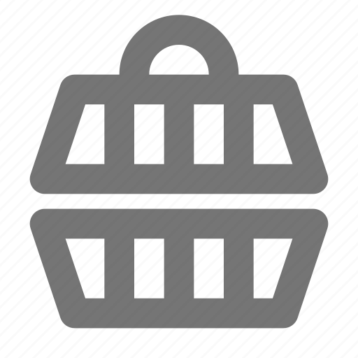 basket, carrier, pet carrier icon