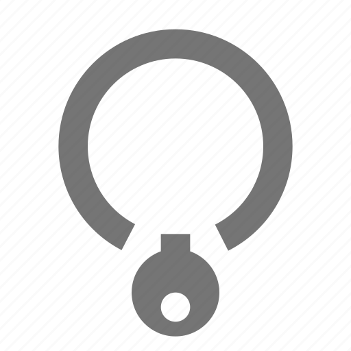 bell, collar, tag icon