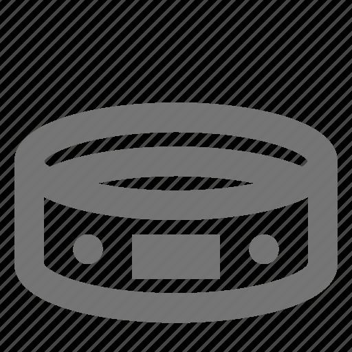 animal, car, collar, dog, pet, tag, track icon
