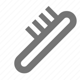 brush, comb icon