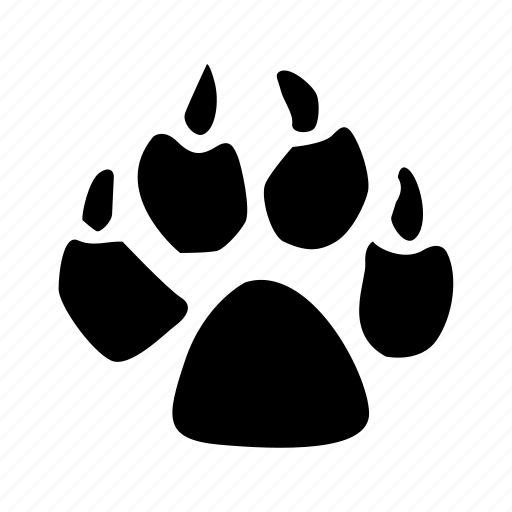 animal, animals, breed, domestic, footstep, mammal, pet icon