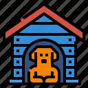 crates, dog, house, pet, petshop icon