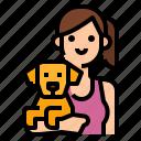 adopt, adoption, dog, pet, petshop icon