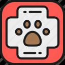 aid, animal, clinic, first, health, help, kit icon