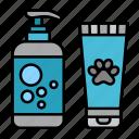 animal, grooming, pet, shampoo, soap, shower, shop