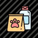 paw, pet supplies, pets icon