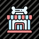 pet shop, pet supplies, pets icon